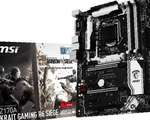 MSI Z170 A Krait Gaming R6 Siege