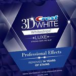 Crest 3D White Whitestrips Luxe Professional Effec