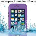 Кейс RedPepper Waterproof фиолетовый, iPhone 6/6S, бу