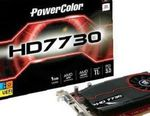 Видеокарта PCI-E 1024Mb PowerColor HD7730вох новая