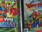 Dragon Quest viii и EyeToy Play Sports для PS2